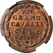 1 grano - Fernando IV – revers