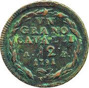 1 grano - Ferdinando IV – revers