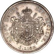 5 lire - Joachim Murat – revers