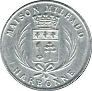 5 centimes - Maison Milhaud - Narbonne [11] – avers