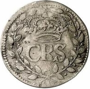 2 rundstück Charles XI (sans ruban) – avers