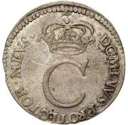 4 rundstück Charles XI (sans deux cercles intérieurs) – avers