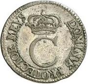 4 rundstück Carl XI (avec deux cercles intérieurs) – avers
