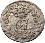 1 rundstück Carl XI (avec ruban) – avers