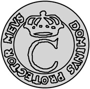 1 dukat Charles XI (essai) – avers