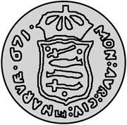 1 dukat Charles XI (essai) – revers