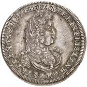 ⅔ thaler Heinrich Casimir II – avers
