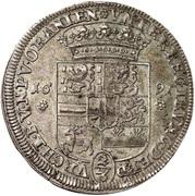 ⅔ thaler Heinrich Casimir II – revers