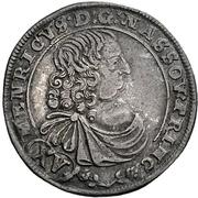 15 Kreuzer - Heinrich – avers