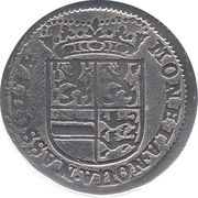 2 albus Heinrich Casimir II – avers