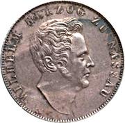 1 gulden - Wilhelm – avers