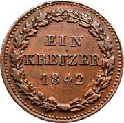 1 kreuzer - Adolph – revers