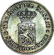 1 kreuzer - Adolph – avers