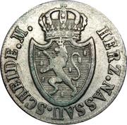 3 kreuzer - Friedrich August & Friedrich Wilhelm – avers