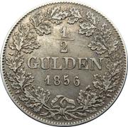 ½ gulden - Adolph – revers