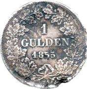 1 gulden - Adolph – revers
