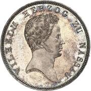 1 thaler Wilhelm (Visite de la monnaie) – avers