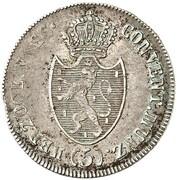 5 kreuzer Friedrich August de Usingen – avers