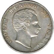 2 thaler / 3½ gulden - Adolph – avers