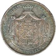 2 thaler / 3½ gulden - Adolph – revers