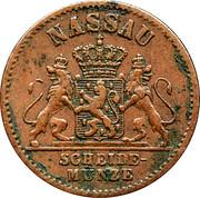1 pfennig - Adolph – avers