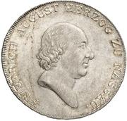 1 Thaler - Friedrich August – avers