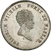 20 Kreuzer - Friedrich Wilhelm zu Weilburg (Konventionskreuzer) – avers