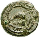 Bronze Æ11 (Naulochos) – revers