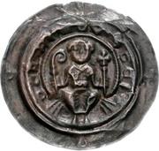 1 Brakteat - Berthold II. von Meissen – avers