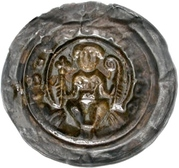 1 Brakteat - Berthold II. von Meissen – revers