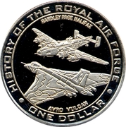 1 Dollar - (History of the Royal Airforce) – revers