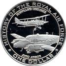 1 dollar (histoire de la Royal Air Force) – revers