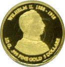 5 Dollars - Elizabeth II /  Kaiser Wilhelm II – revers
