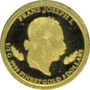 5 Dollars (Franz Joseph I) – revers