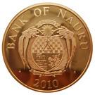 1 Dollar (Allemagne - 20ème anniversaire de la Réunification) – avers