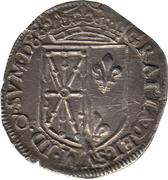Quart d'écu de Navarre - Henri II de Béarn, III de Navarre, IV de France – revers