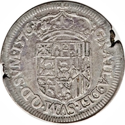 Teston - Henri II de Béarn, III de Navarre, IV de France – revers