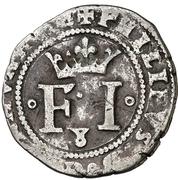 8 cornados Philippe IV – avers