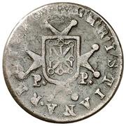 ½ maravedi Ferdinand VII tête laurée – revers