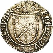 1 real Ferdinand II – avers