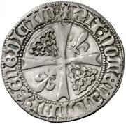 Grueso Charles IV – revers