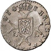 ½ maravedi Ferdinand VII – revers