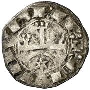 Dinero - Teobaldo I – avers