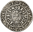 Gros Charles II – avers