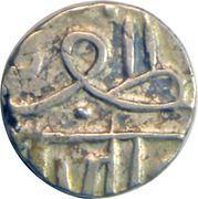 ½ Kori  - Muzaffar Shah III (Navanagar) – avers