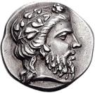 Didrachm (Naxos) – avers