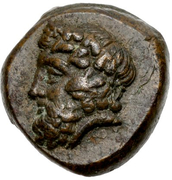 Bronze Æ11 (Naxos) – avers