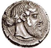 Tetradrachm (Naxos) – avers