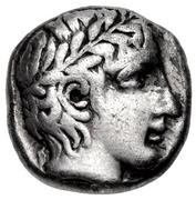Hemidrachm (Neandria) – avers