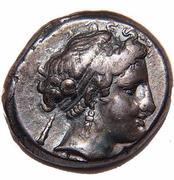 Nomos ou Statère de Neapolis – avers